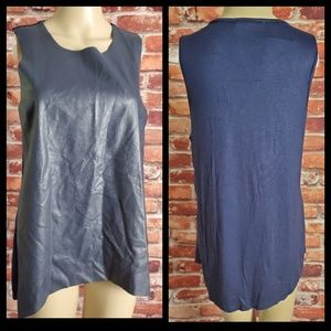 NWT Bishop and Young Sleeveless Top Size Large